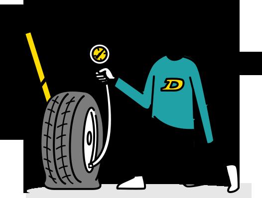 タイヤの空気圧シミュレーション【DUNLOP】ダンロップタイヤ 公式